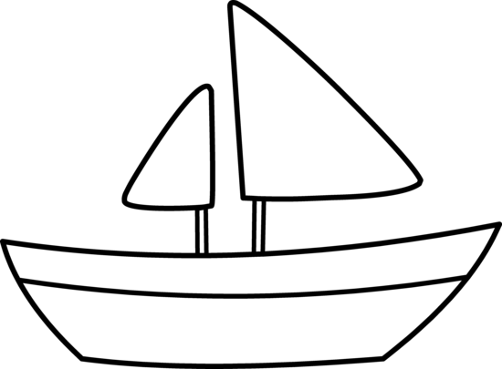 Sailboat Clipart Black And White | Clipart Panda - Free Clipart Images ...