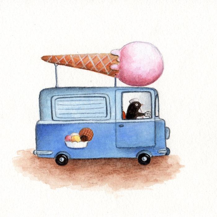 Ice Cream Truck Clipart - Cliparts.co