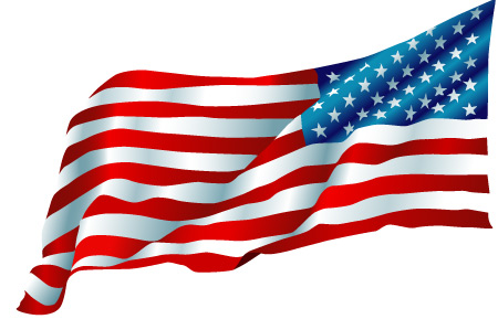 Waving American Flag Vector - Cliparts.co  Waving American Flag Outline