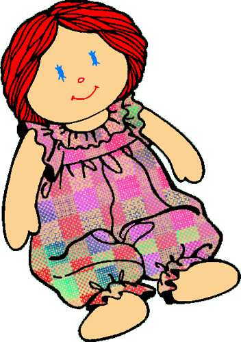 clipart of doll - photo #6