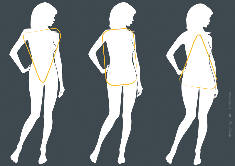 Body Silhouette For Fashion Design