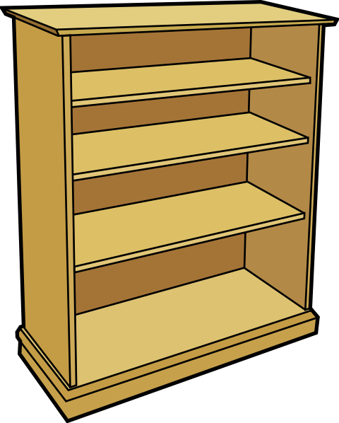 library shelves clipart - photo #36