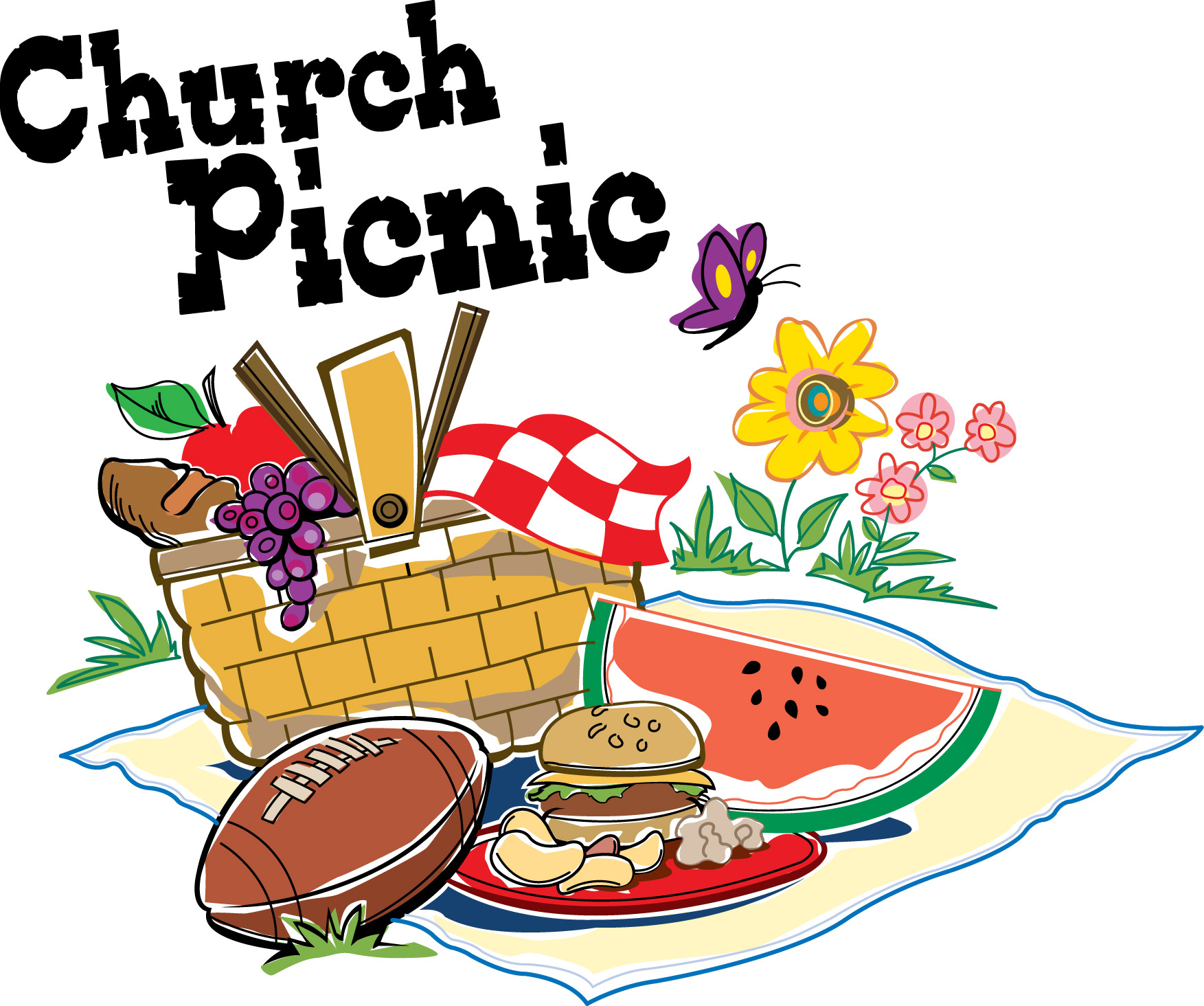 Summer Picnic Clip Art - Cliparts.co