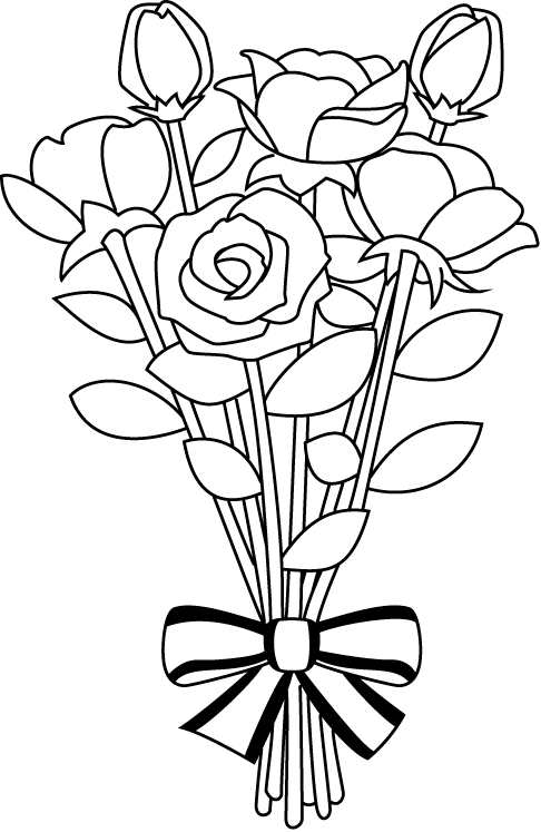 Flower Bouquet Drawings - ClipArt Best