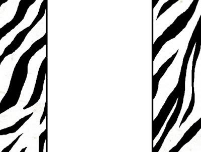 Zebra print stencil printable cliparts zebra stripes border images pictures becuo toneelgroepblik Gallery