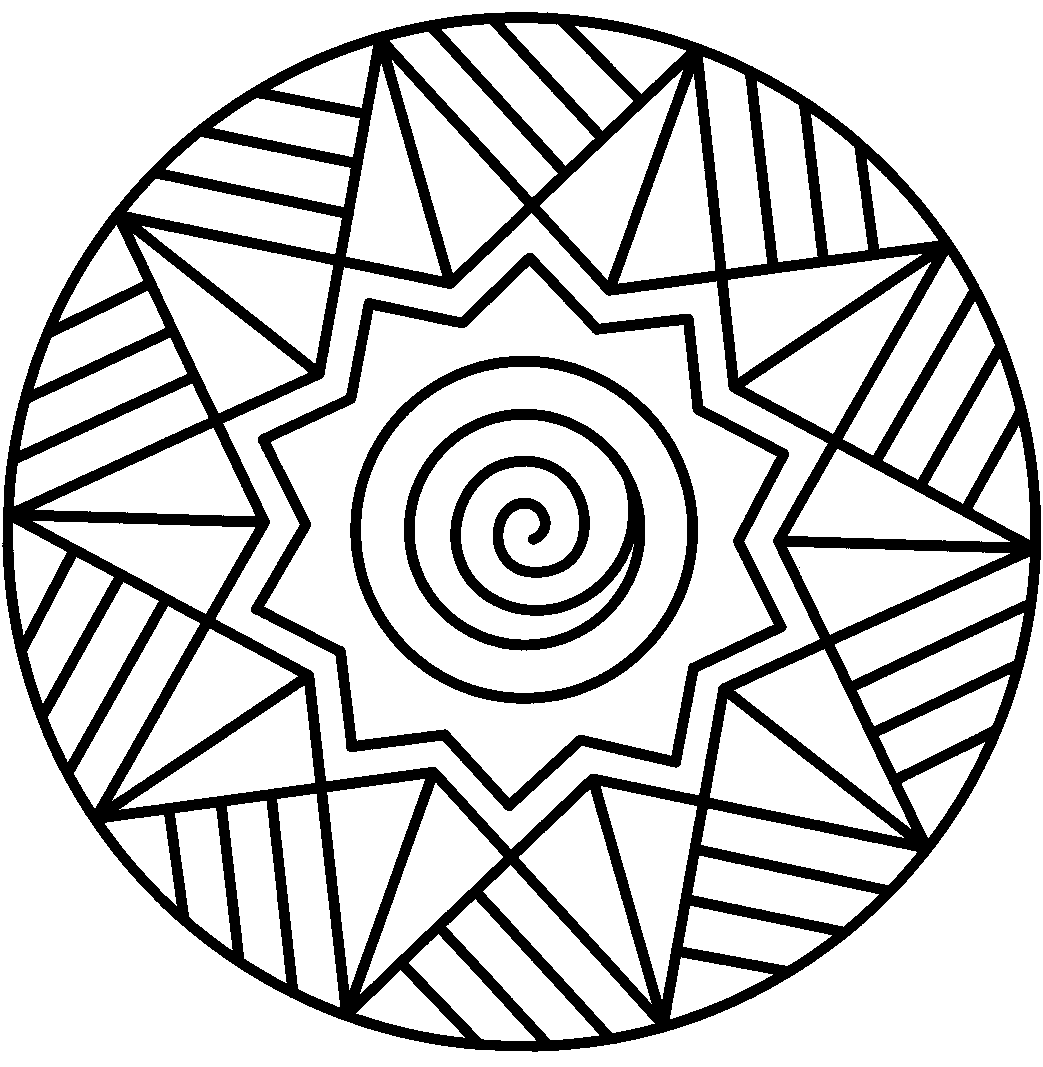 Mandala coloring pages for adults online - Butterfly Mandala Coloring Pages Printable Picture Free Abstract
