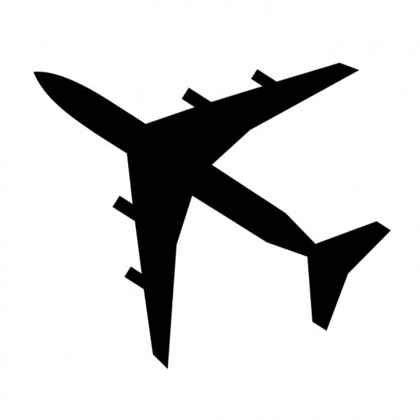 Airplane Outline Clip Art Cliparts Co