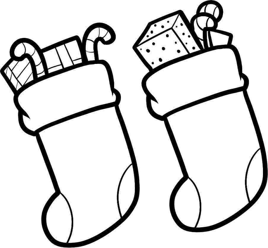 Christmas Stocking Photo - Cliparts.co