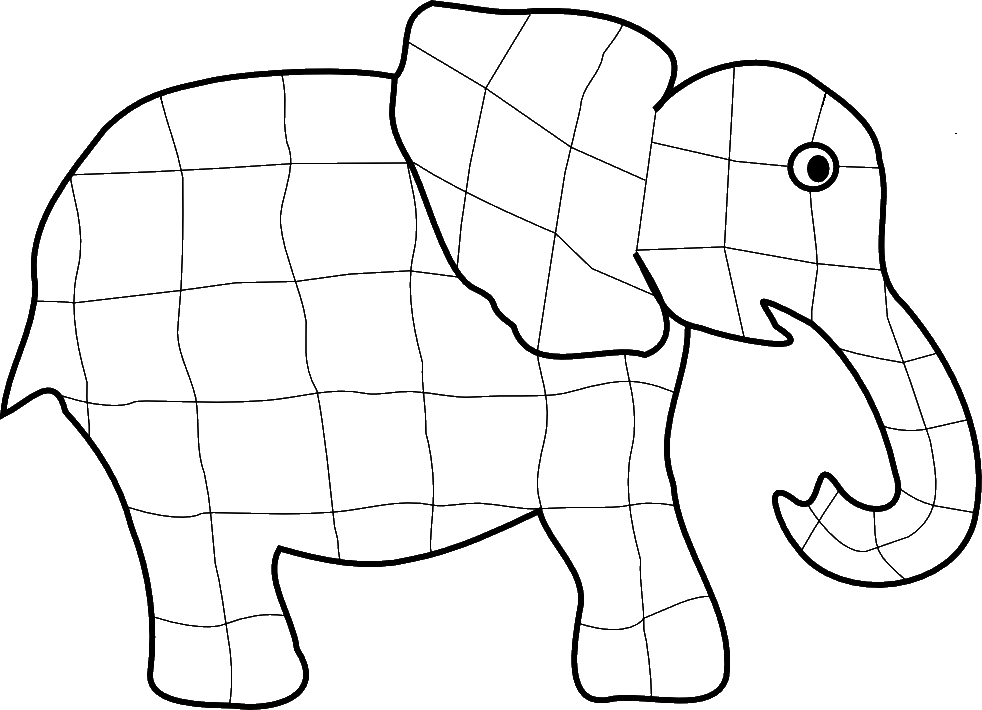Elephant Outline - Cliparts.co
