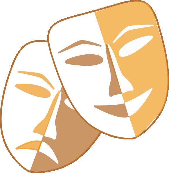 Printable Theatre Faces Clip Art Cliparts Co