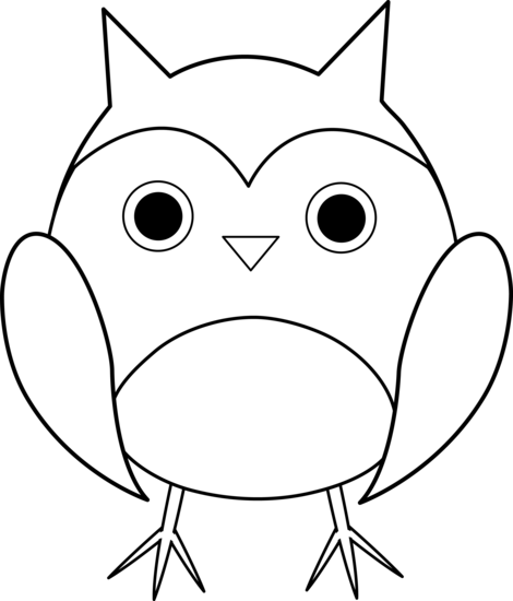 Owl Cartoon Black And White Images & Pictures - Becuo