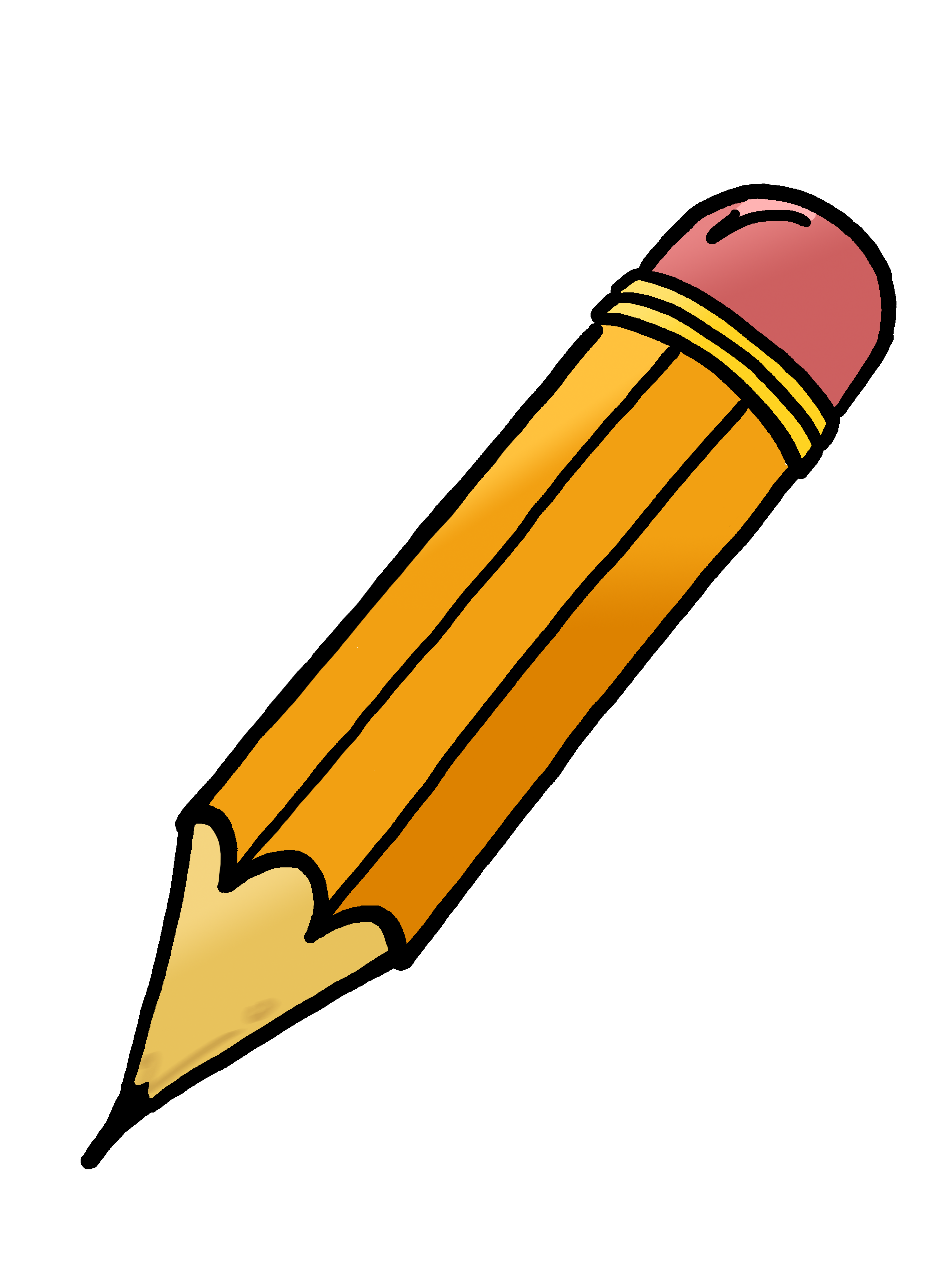 paper and pencil clipart - photo #18