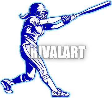 Softball Bat Clipart - Cliparts.co