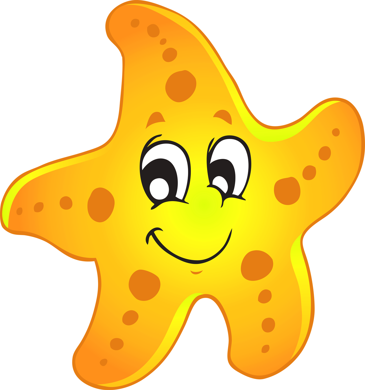 Sea Star Clipart - Cliparts.co