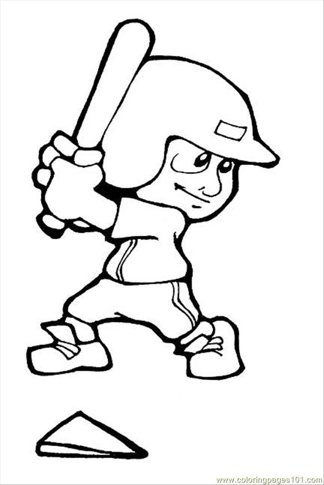 Cartoon Baseball Players - Cliparts.co