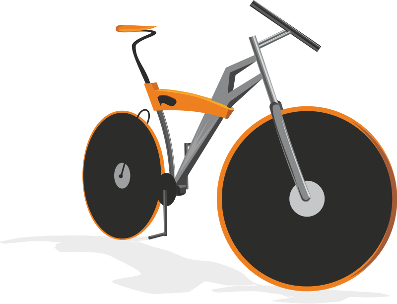 free clip art bike rider - photo #38