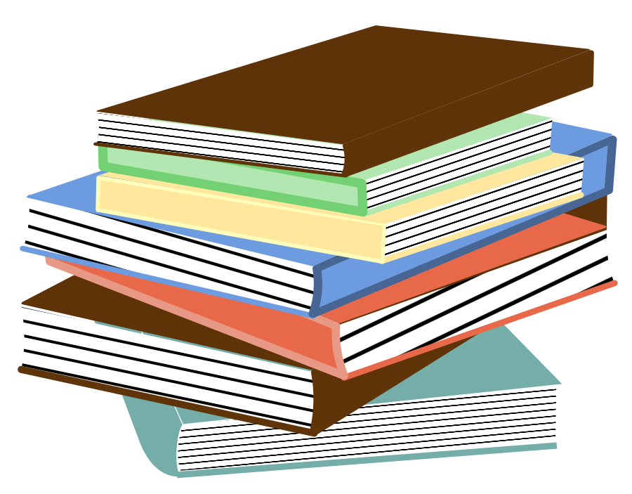 Books Clipart, vector clip art online, royalty free design ...