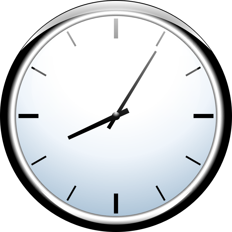 Simple analog clock  seconds clock hand  YouTube