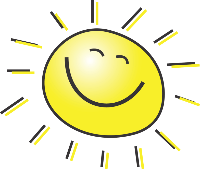Smiling Sun With Sunglasses Clipart | Clipart Panda - Free Clipart ...