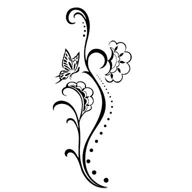 59 Gambar Bunga Mawar Untuk Tato