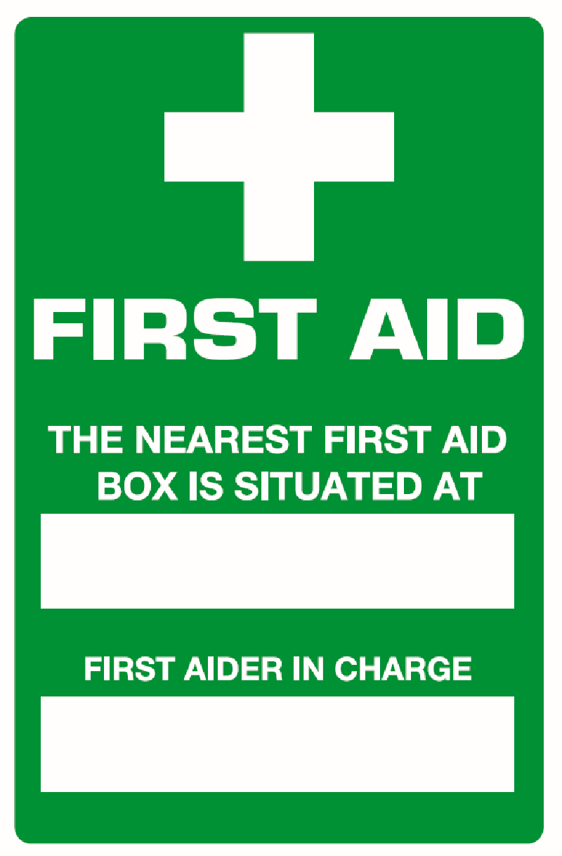Invaluable image with printable first aid sign