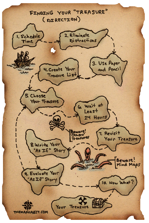 treasure map outline cliparts co