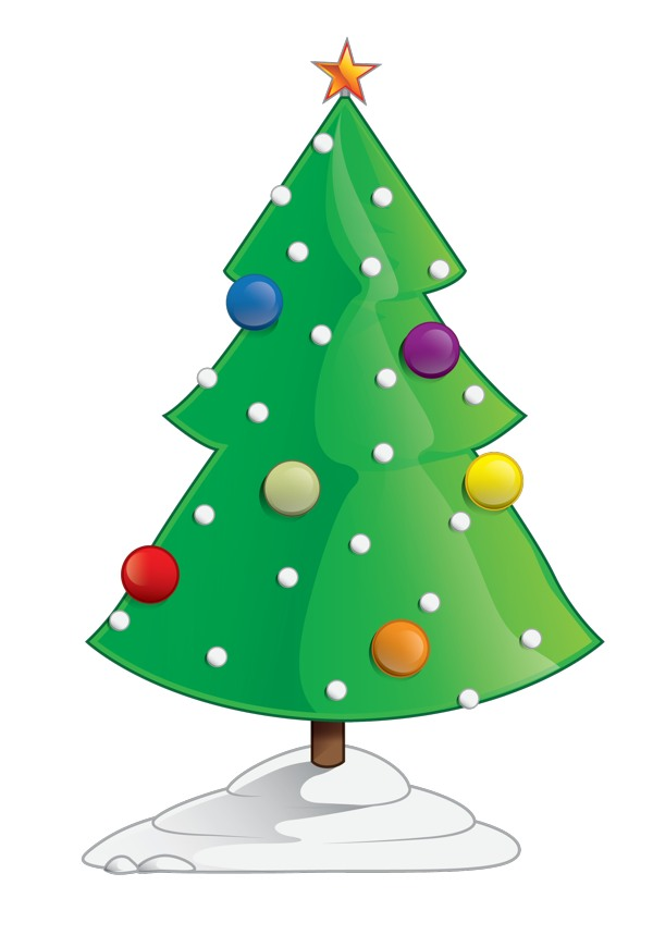 My Home Reference clipart christmas tree outline | My Home Reference