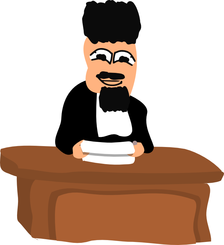 clipart of judge - photo #20