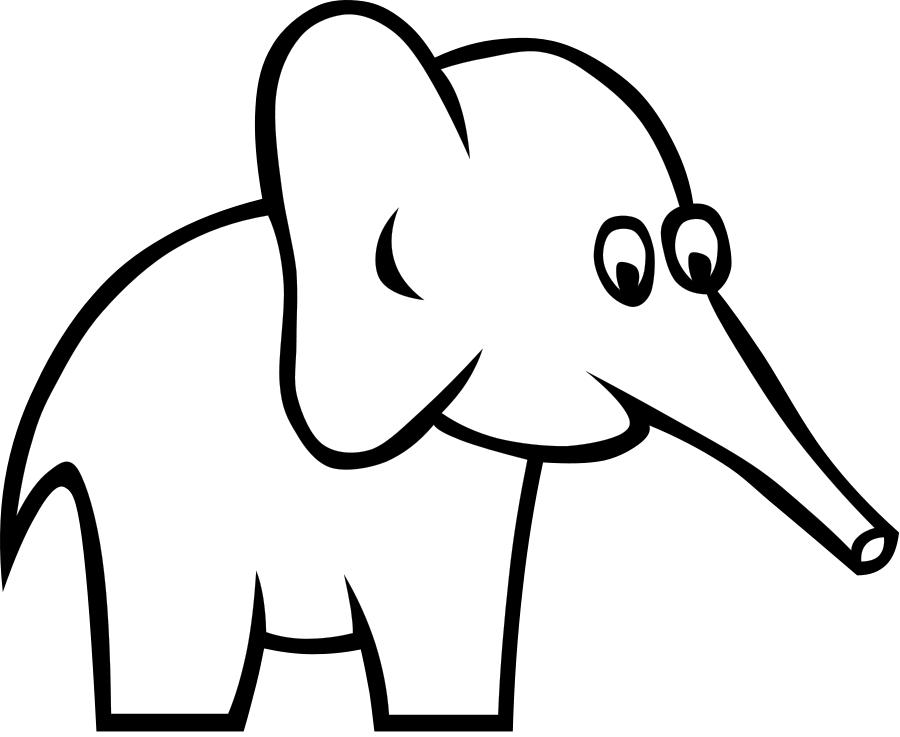 Certain Elephant Clipart, vector clip art online, royalty free ...