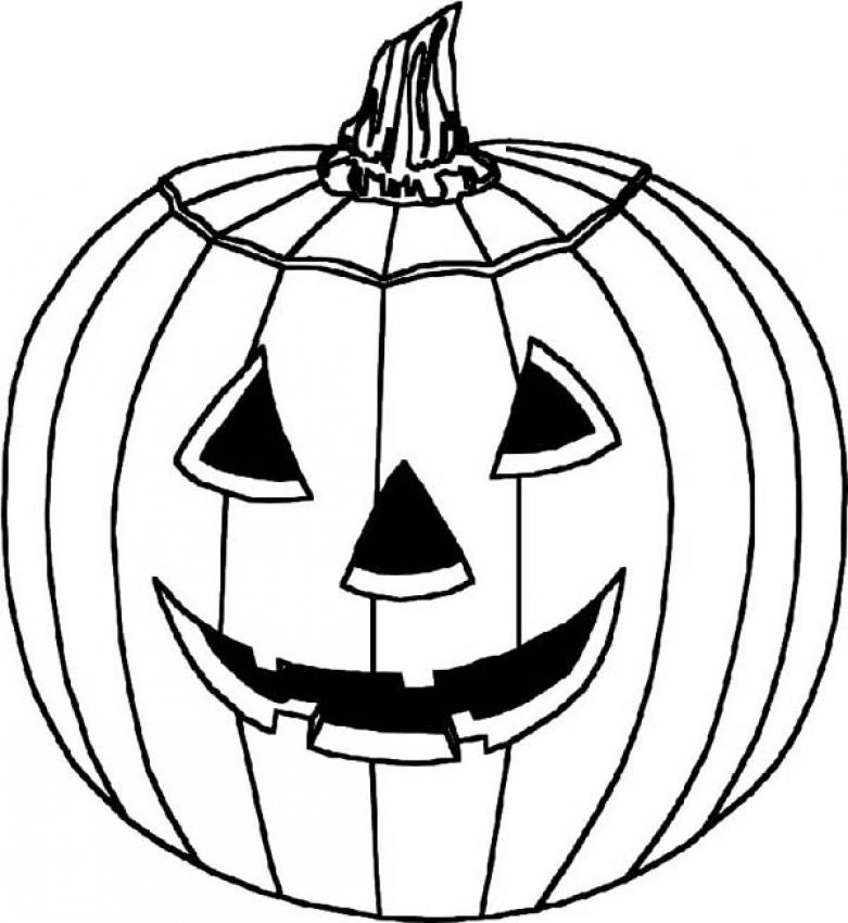 cartoon pumpkins coloring pages - photo#13