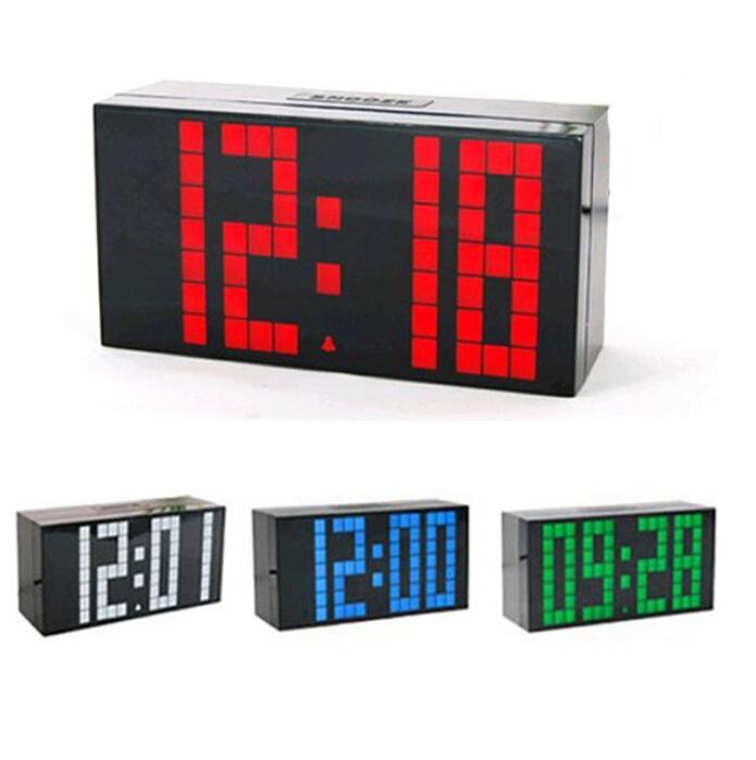 Jumbo Led Alarm Clock Promotion Online Shopping For