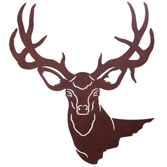 free deer head silhouette clip art - photo #38