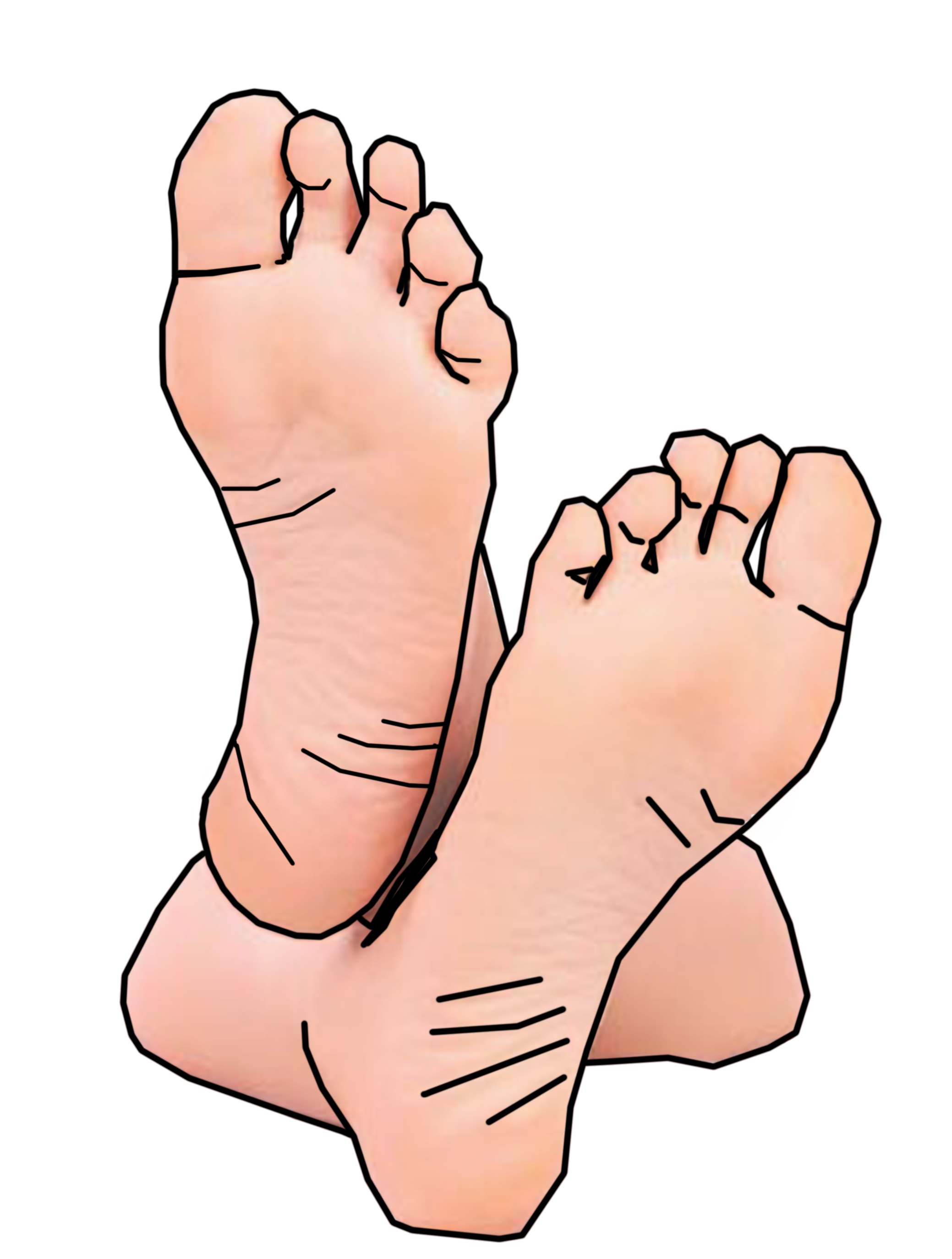 Feetsies image - vector clip art online, royalty free & public domain