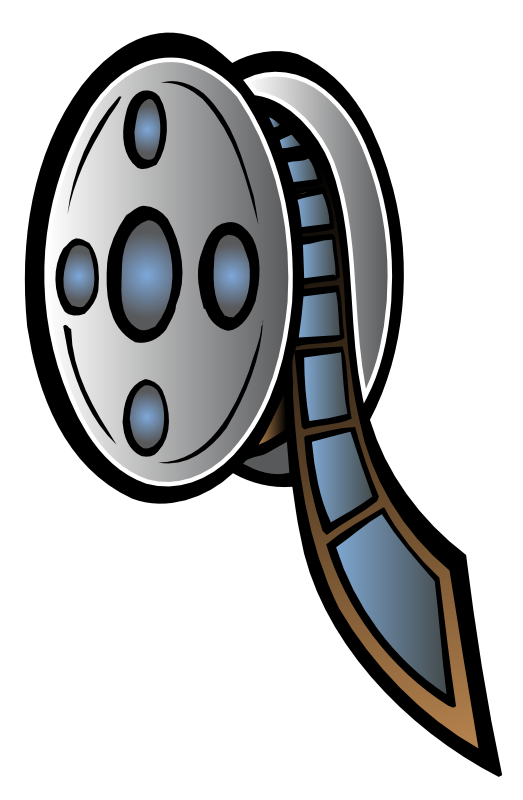 Free to Use & Public Domain Movie Clip Art