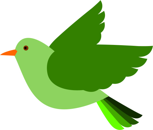 Clip Art Flying Bird - Cliparts.co