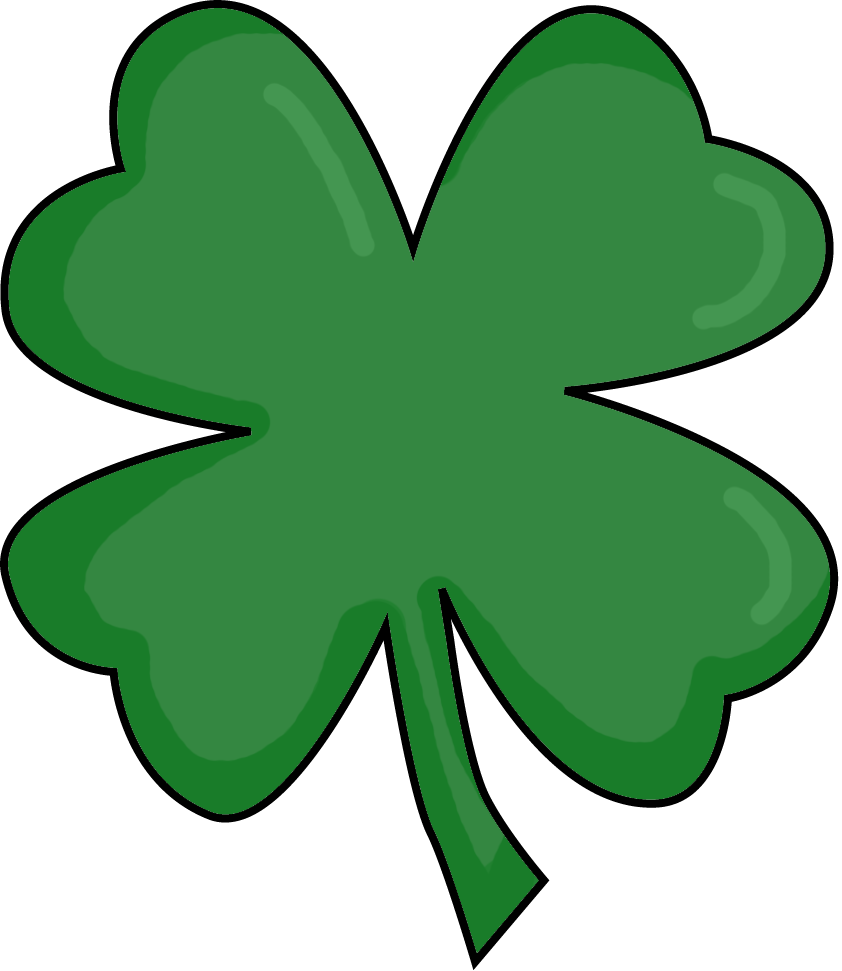 Small Four Leaf Clover - ClipArt Best