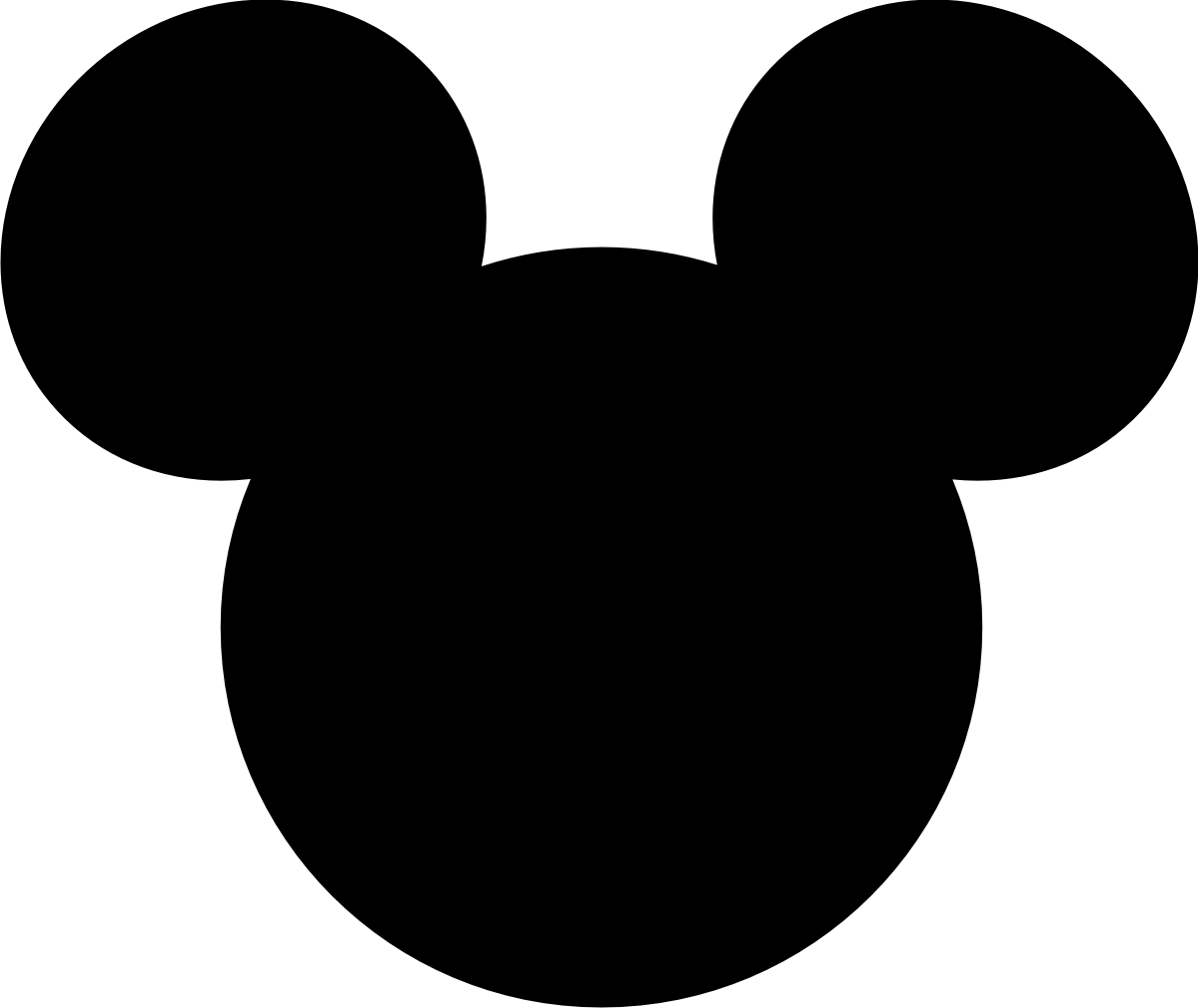 mickey mouse head logo