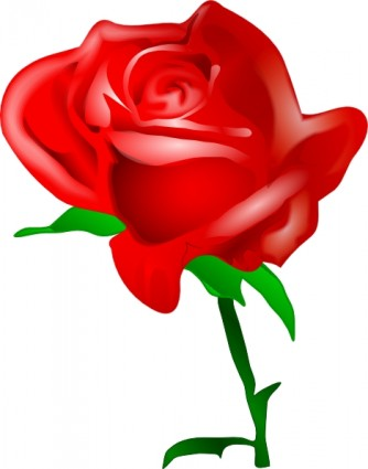 Red Rose clip art Vector clip art - Free vector for free download