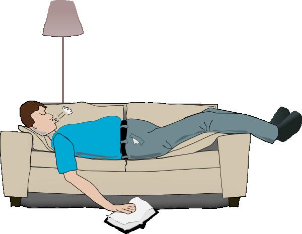 Sleeping Cartoon Person - Cliparts.co