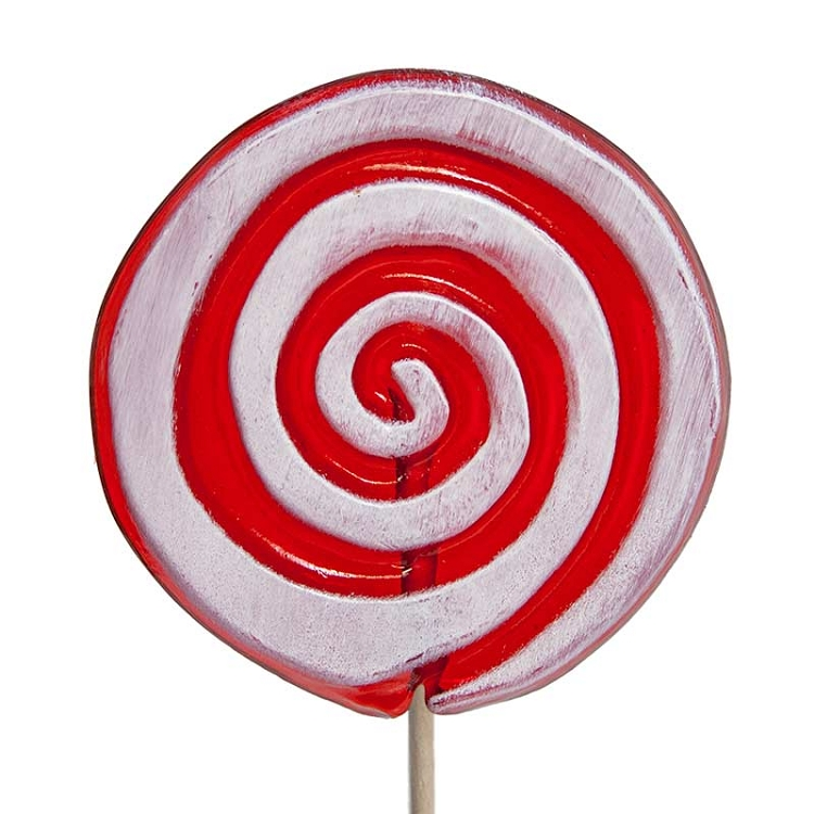 Frosted Holiday Swirl Lollipops: 24 Hard candy lollipops shaped ...