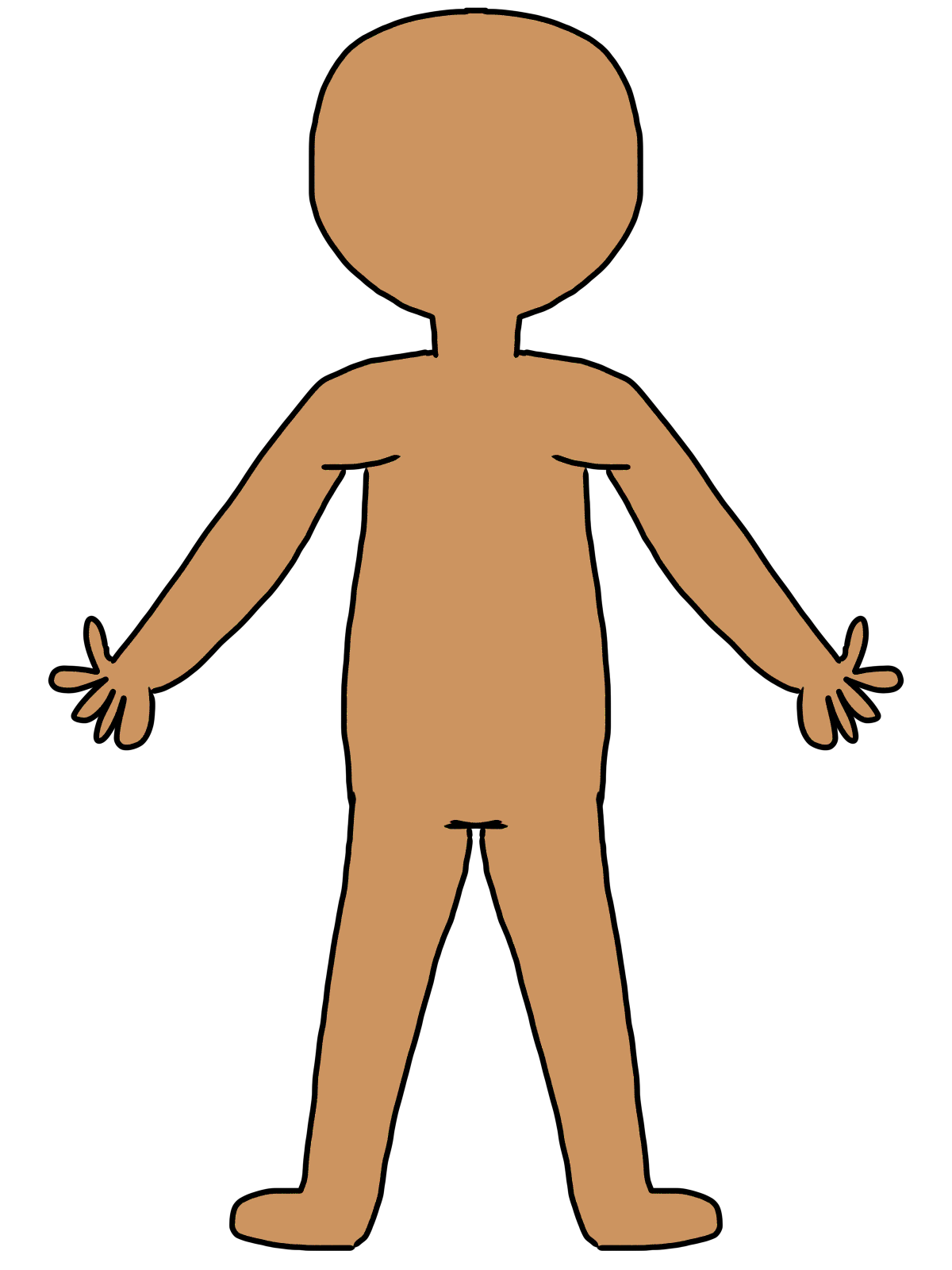 Body Part Clip Art - Cliparts.co