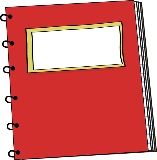 notebook page clipart - photo #41
