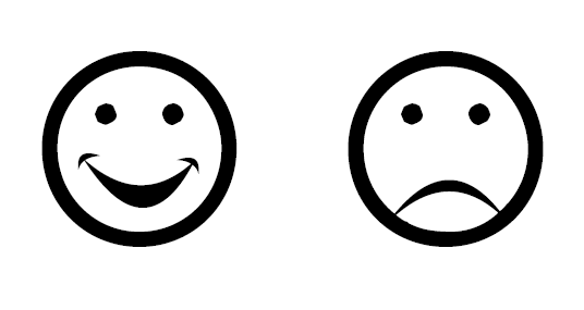 frowning smiley face clipartsco
