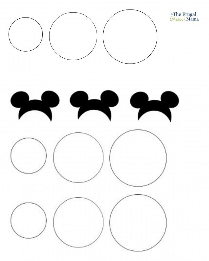 Mickey Mouse Glove Template - NextInvitation TemplatesMickey Mouse Glove Template Printable