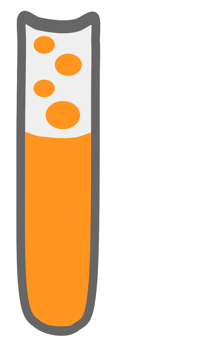 Test Tube Clipart by Scout : School Cliparts #17093- ClipartSE