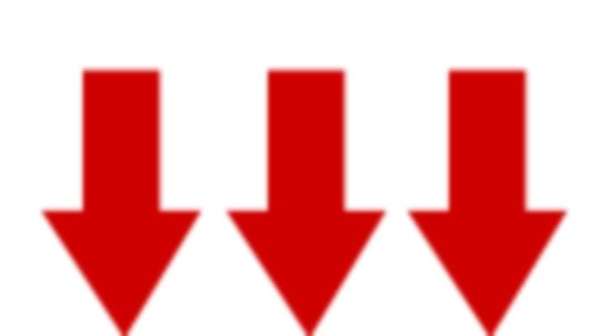 Clipart Arrow Pointing Down  Cliparts For You