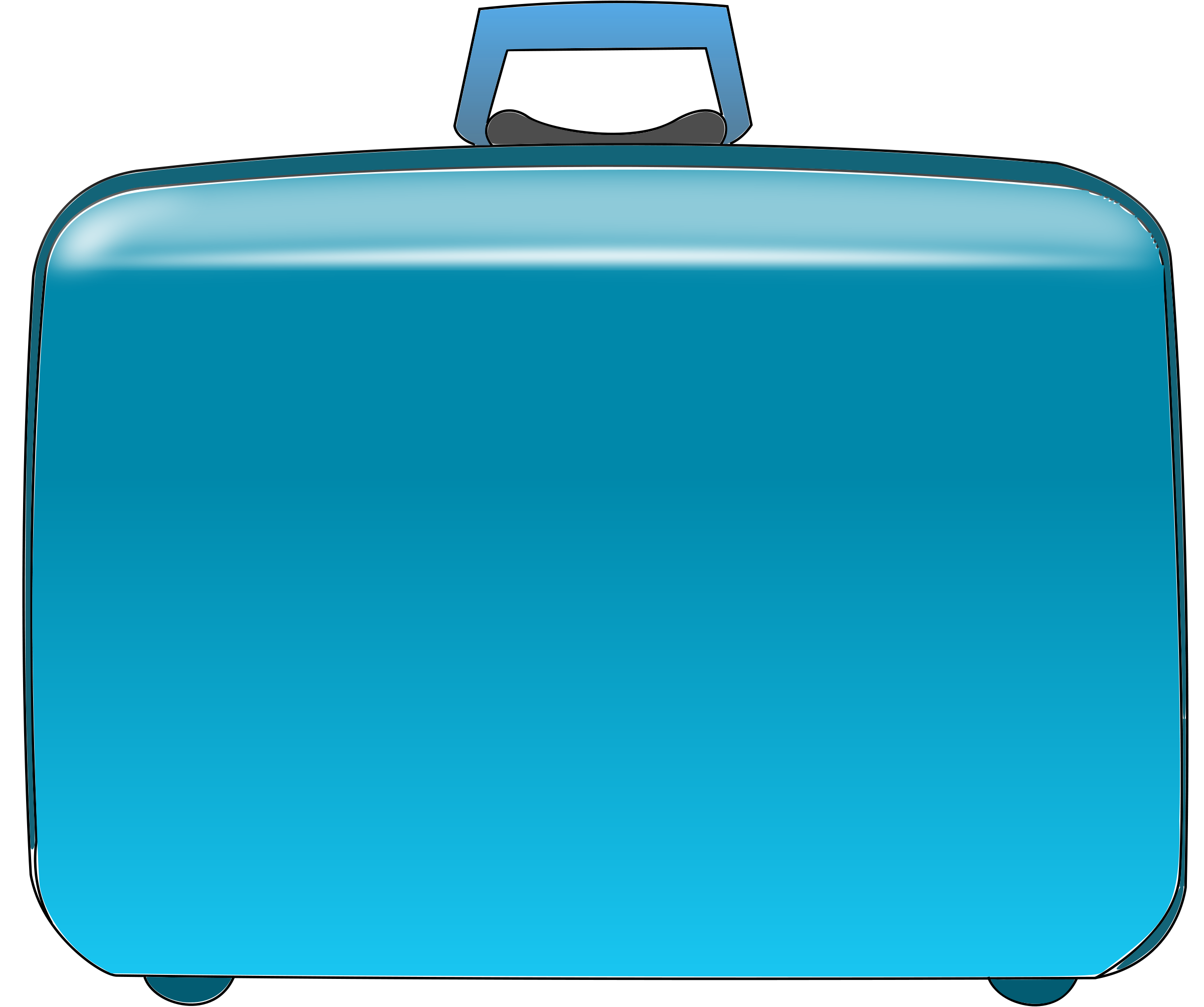 clip art suitcase. Black Bedroom Furniture Sets. Home Design Ideas