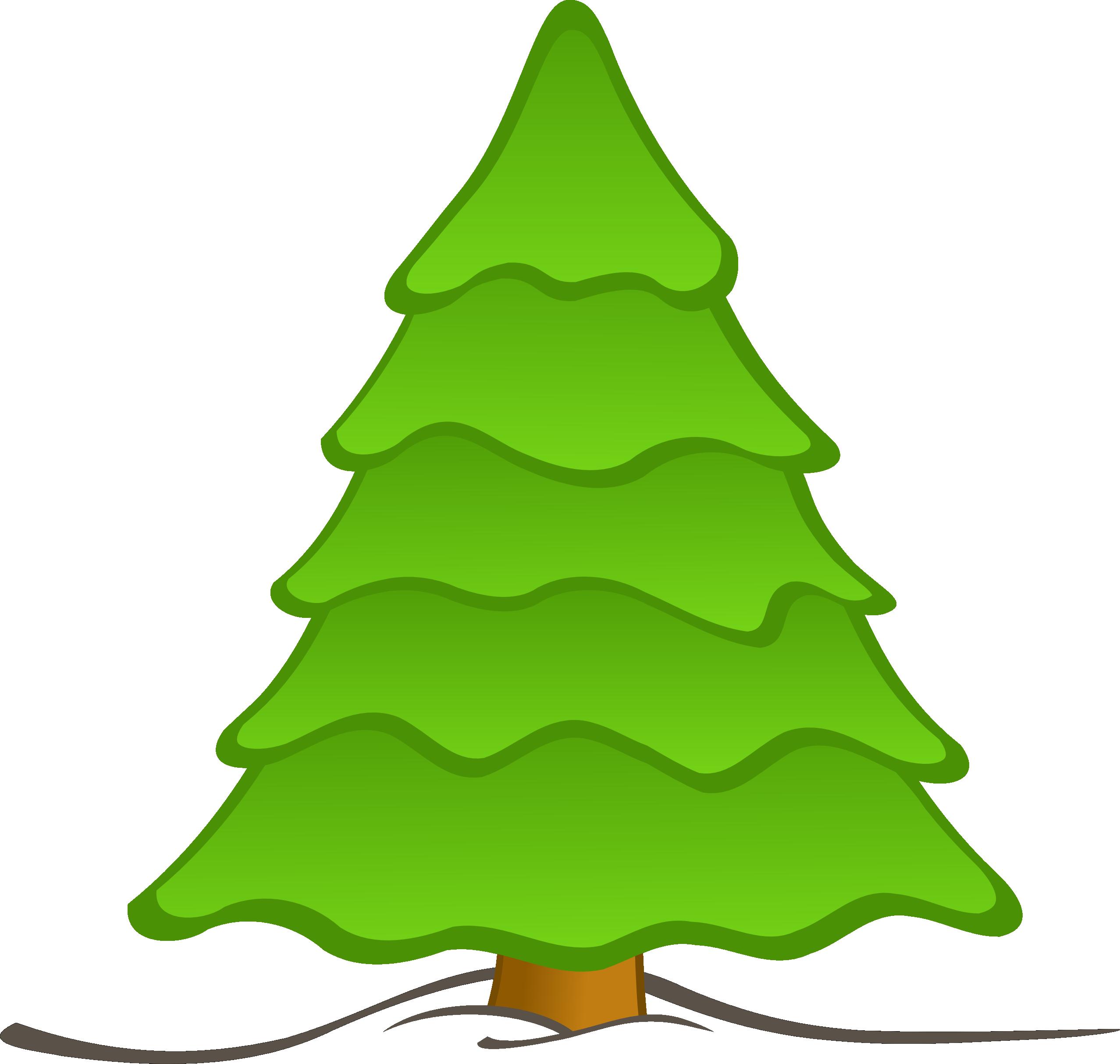 Line Drawing Christmas Tree : Christmas tree line art cliparts