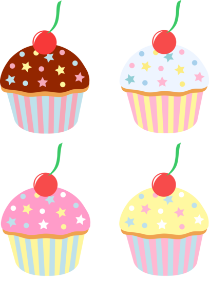 Cartoon Cupcake Clipart - Cliparts.co