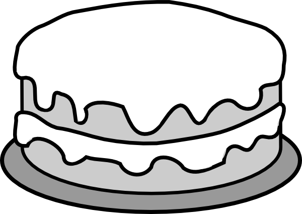 Cake Clipart Images Black And White : Cake Pictures Clip Art - Cliparts.co